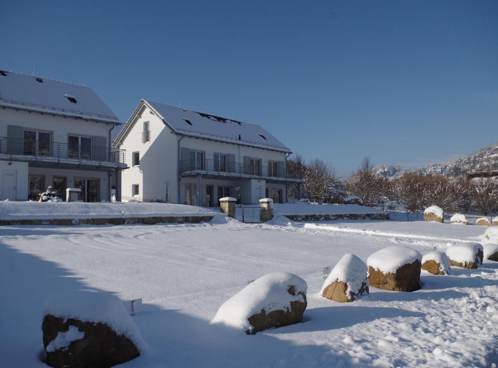 Elbresort im Schnee