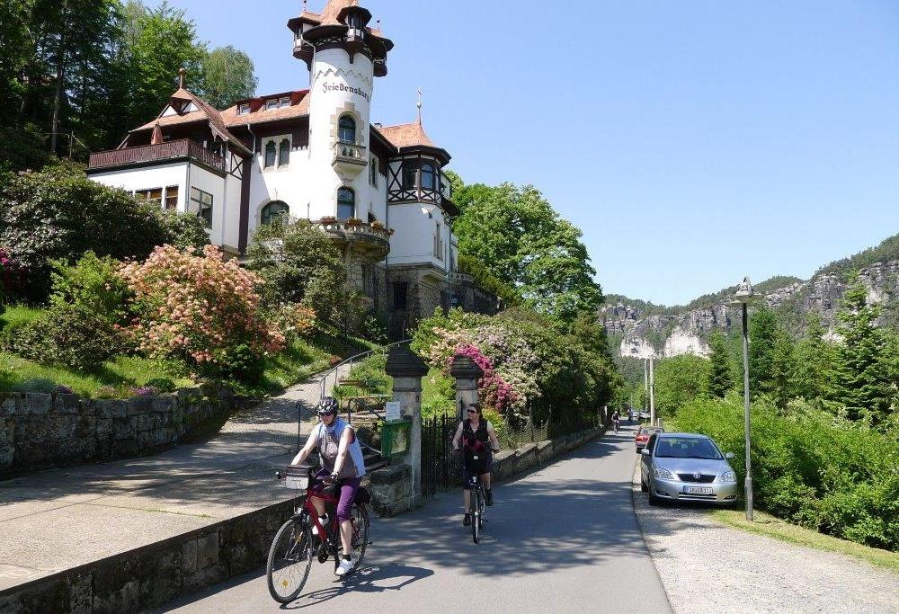 Radtour Sächsische Schweiz
