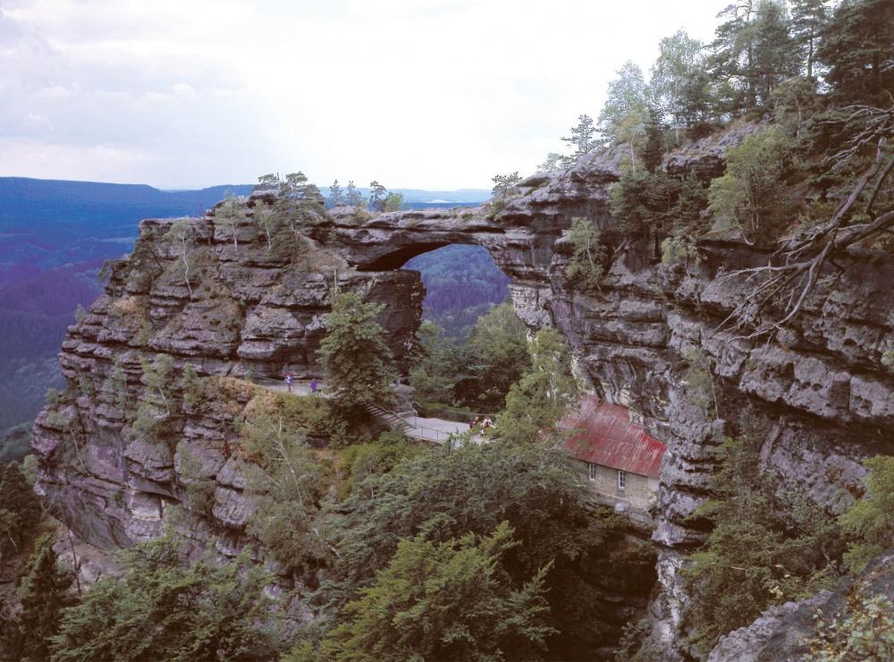 Klettern-Prebischtor